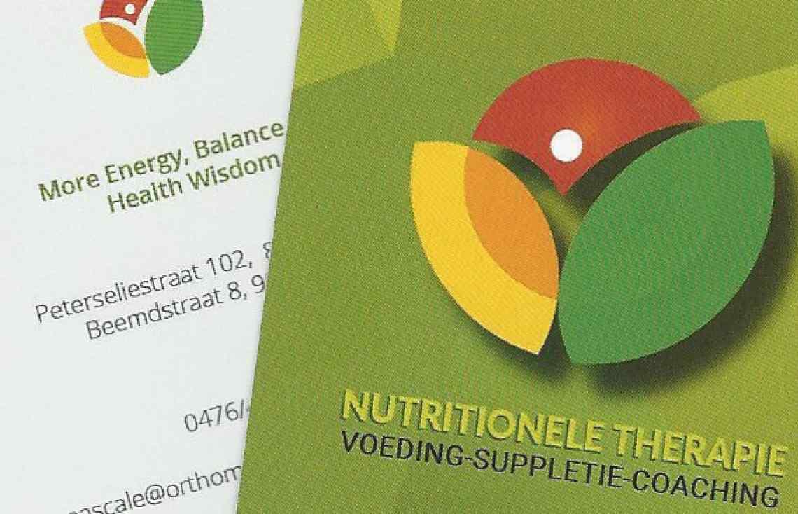 Logo en visitekaartje en layout website